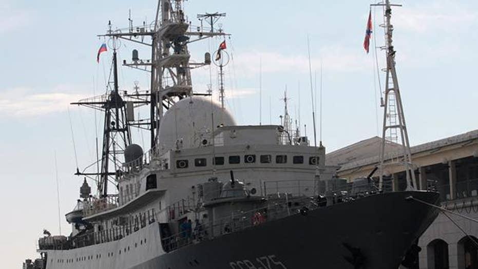 Putin's strategy in sending Russia spy ship to US coast