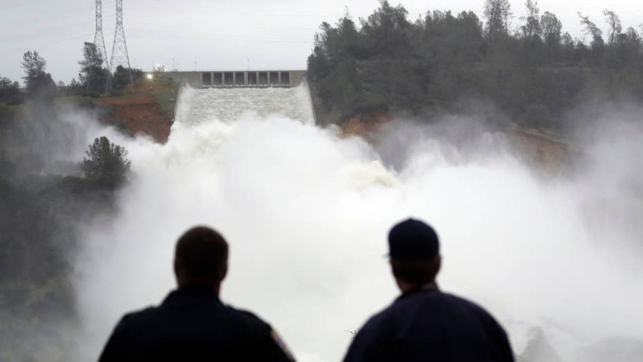 Oroville Dam crisis highlights nation's aging infrastructure