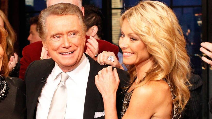 Fox411: Regis Philbin says Kelly Ripa was 'very offended' when he left 'Live'