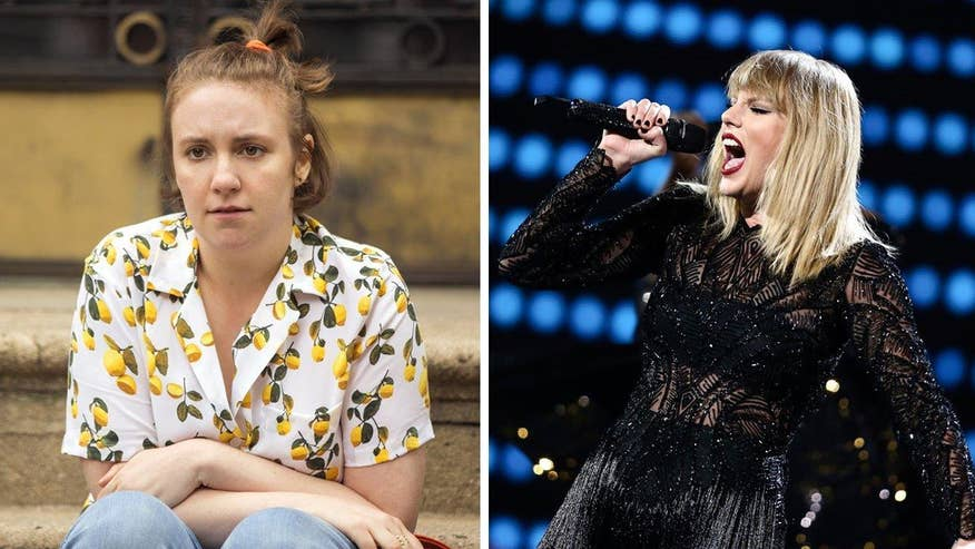 Fox411 Breaktime: Lena Dunham praises Taylor Swift