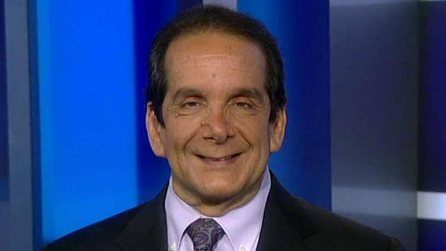 Syndicated columnist and Fox News contributor Charles Krauthammer clarifies his 'cover-up without a crime' take on the Mike Flynn controversy, says intel community sent Trump a message: You messed with the wrong agency #Tucker