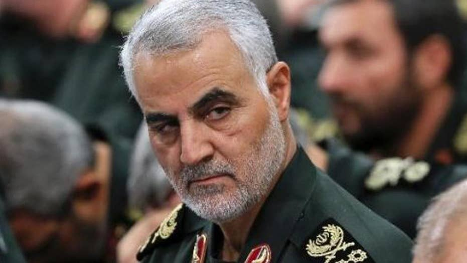 Iranian general violates sanctions by visiting Moscow