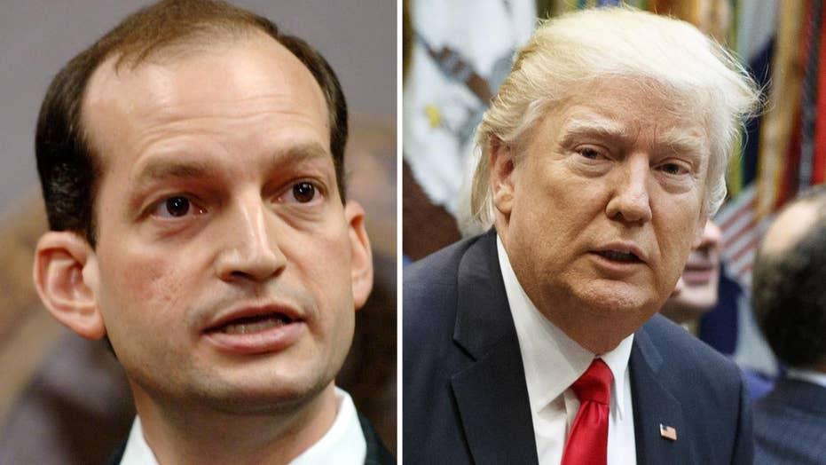 Trump will tap Alexander Acosta as labor secretary nominee