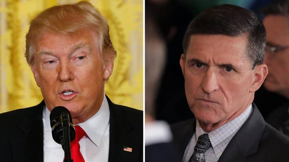 Trump: Flynn did nothing wrong, Russia flap is fake news