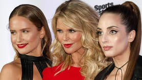 Fox411: Kate Upton and the Sports Illustrated Swimsuit models pay tribute to supermodel Christie Brinkley on the red carpet for the new issue launch