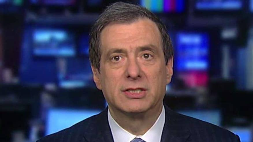 'MediaBuzz' host Howard Kurtz reacts on 'The First 100 Days'