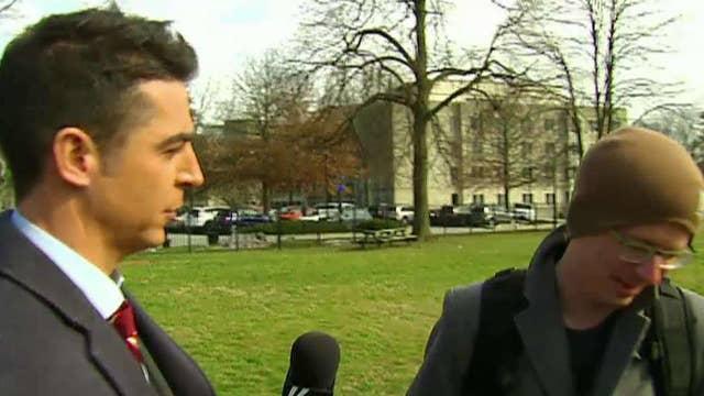 Jesse Watters confronts professor over anti-Trump rant