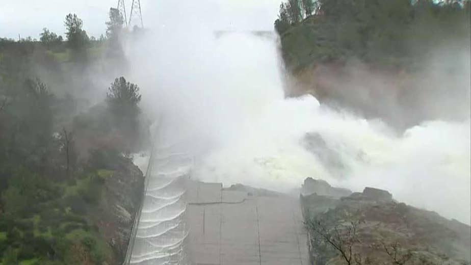 Damaged spillway poses risk for area