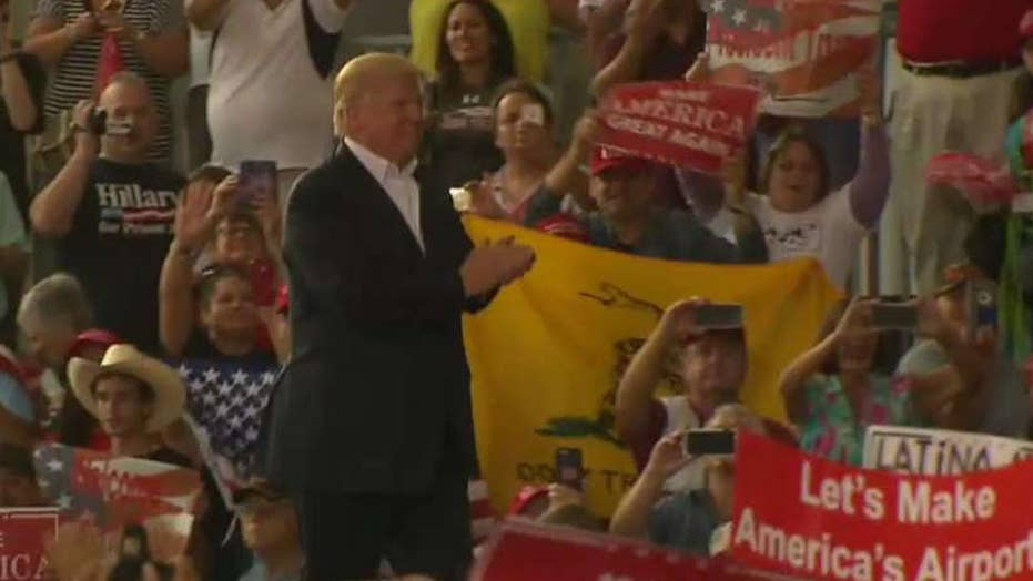 Was President Trump's rally message effective?