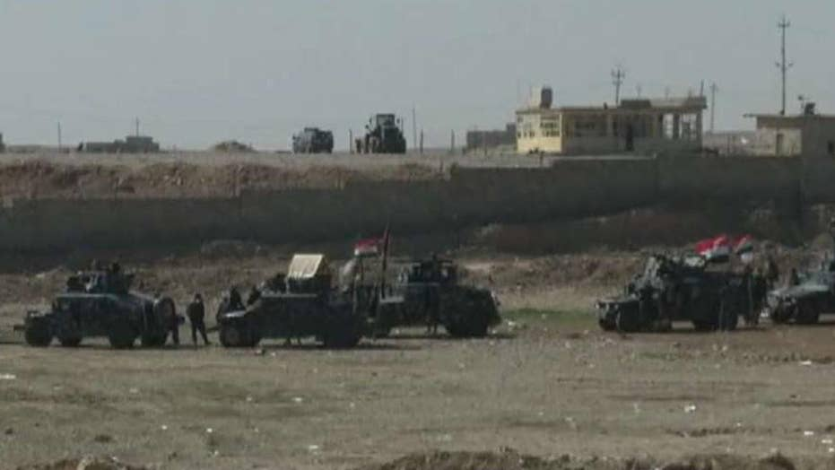 Iraqi troops launch effort to retake western Mosul from ISIS