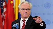 Russia's UN ambassador dies at age 64