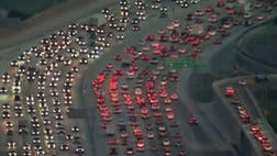 When it comes to getting stuck in traffic on the way to and from work, Los Angeles leads the world.