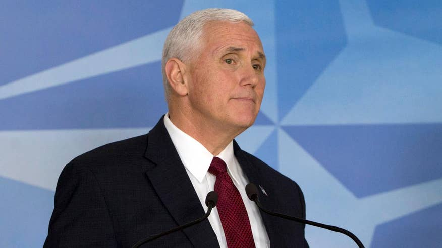 Pence also prodded NATO countries to adhere to their defense spending commitments; Rich Edson has the story for 'Special Report'