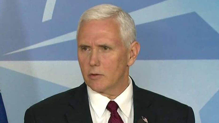 Pence: President Trump, US have strong support for NATO