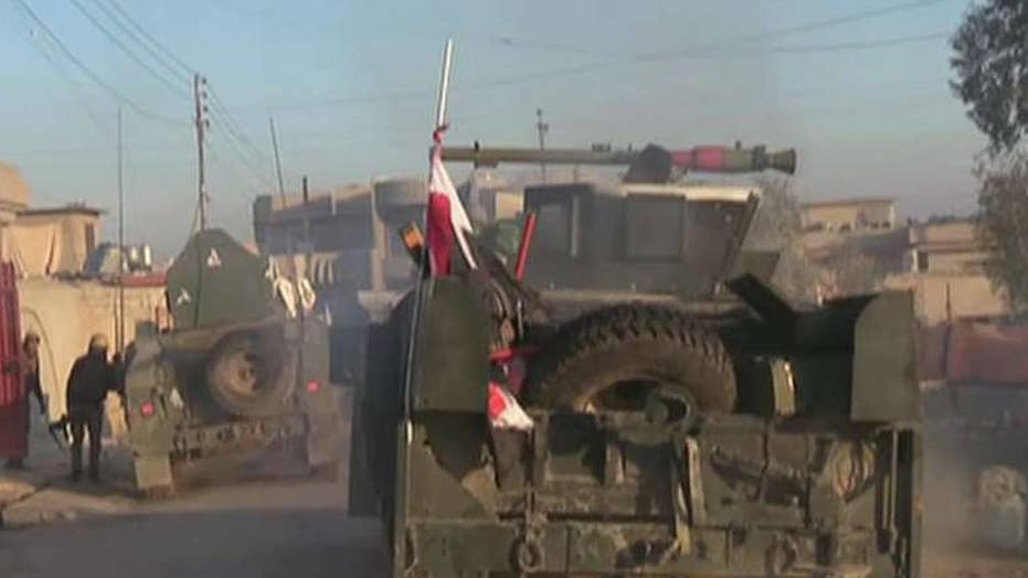 On the ground with Iraq's most elite forces in Mosul