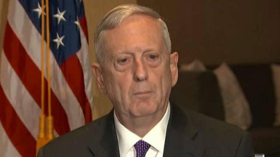 Mattis clarifies US role in Iraq during first Baghdad trip