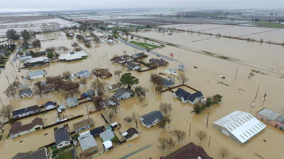 Flooding, landslides force evacuations in California