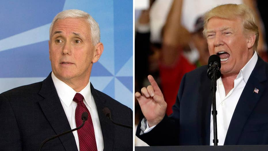 Are Trump's and Pence's differing styles complementary?