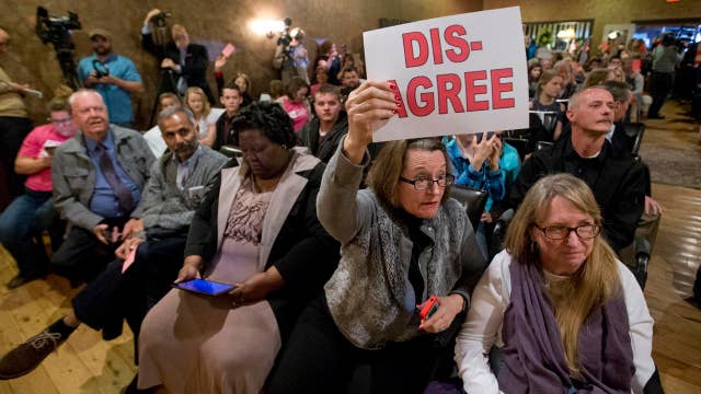 Republican lawmakers face anger during town halls