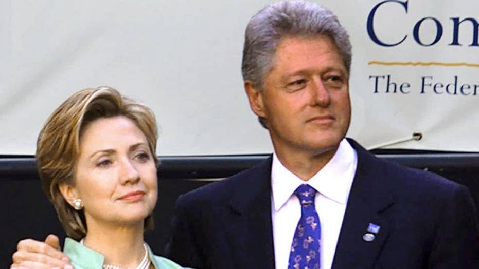 Remember Bill and Hillary's White House drama?