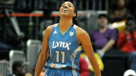 Former WNBA player Candice Wiggins alleges she was harassed throughout her career by gay players, for being heterosexual. Wiggins, who retired from what she called, a 'toxic' work environment, claims '98 percent' of WNBA is gay
