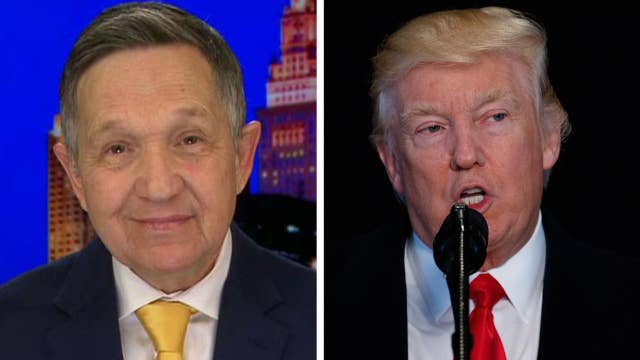 Kucinich reacts to Democrats' early Trump impeachment talk