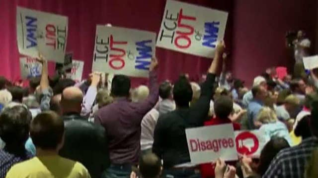 Angry voters continue to flood Republican town halls
