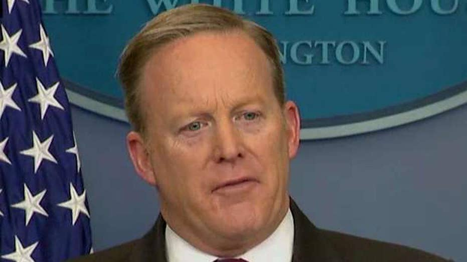 Spicer: School bathrooms are a states rights issue