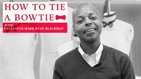 Prepare for any occasion: Fox News consults a professional on the correct way to tie a bow tie