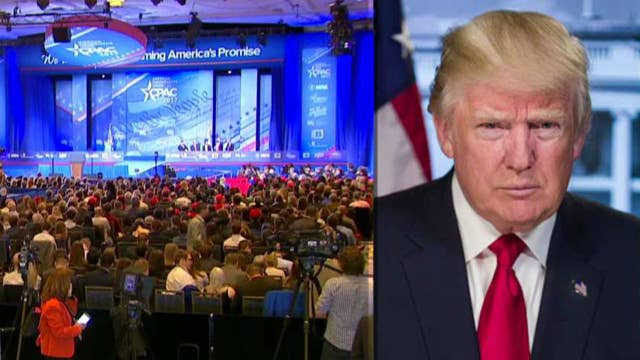 President Trump's agenda on display at CPAC