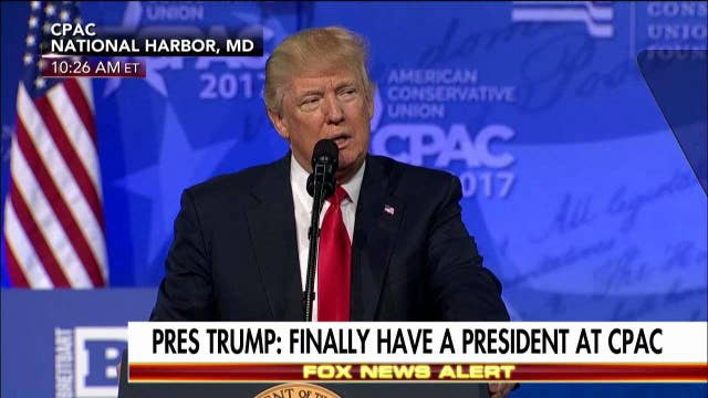 Trump: media should not be allowed to use unnamed sources.
