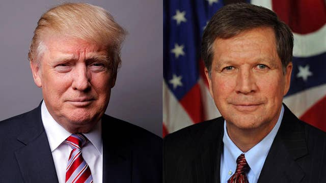 Will Trump and Kasich ever get along?