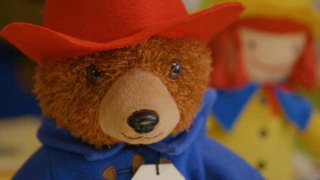 How toys like Babar and Paddington Bear are made