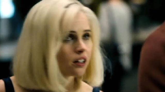 Felicity Jones flexes her action chops in 'Collide'