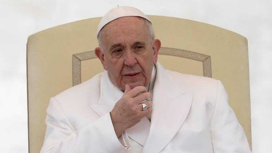 Pope calls out Catholics during a private Mass