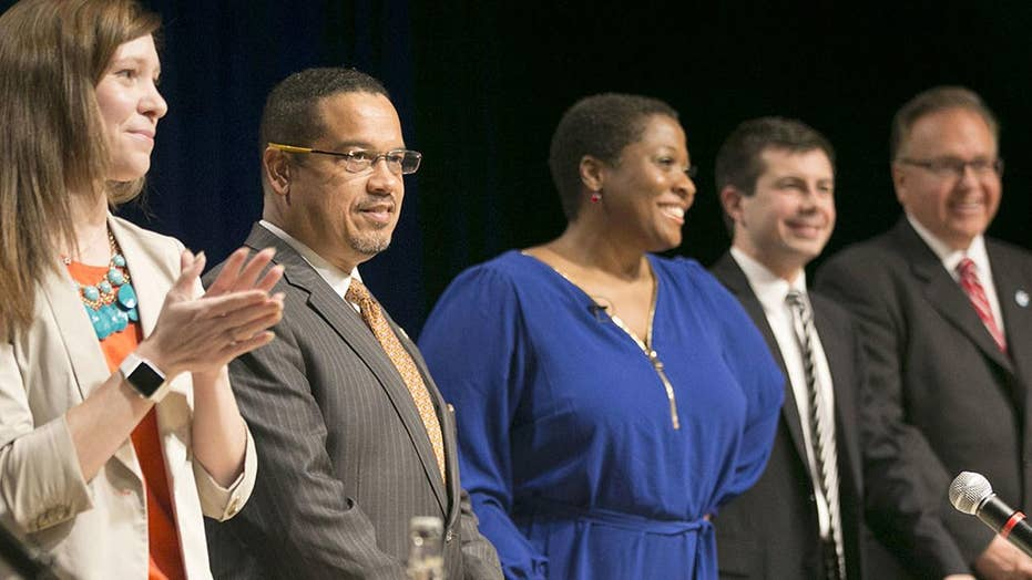 Finding a leader: Seven candidates vie for DNC chair