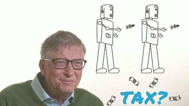 Bill Gates says robots that take your jobs should be taxed