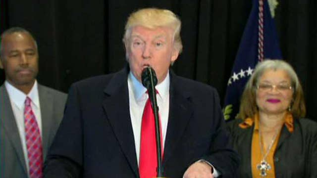Halftime Report: Is Trump inescapable?