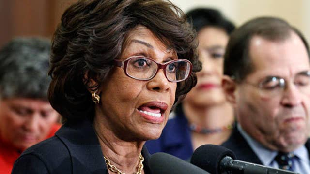 Rep. Waters slams President Trump's Cabinet