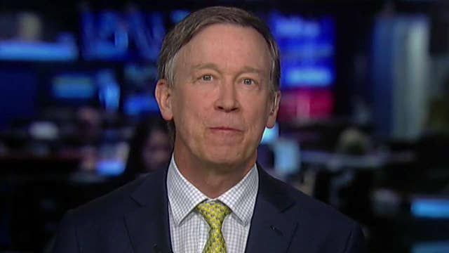 Gov. Hickenlooper on Democrats' direction, marijuana law