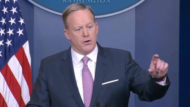 Spicer sparks uproar by excluding some media from briefing
