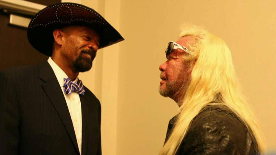 Who does 'Dog the Bounty Hunter' want to see in the Senate?