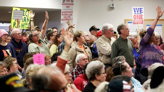 Republicans grapple with backlash at town halls