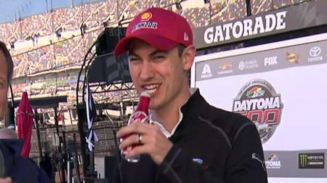 2015 Daytona 500 champion Joey Logano talks new contract