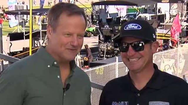 NASCAR driver Clint Bowyer talks Daytona 500 strategy