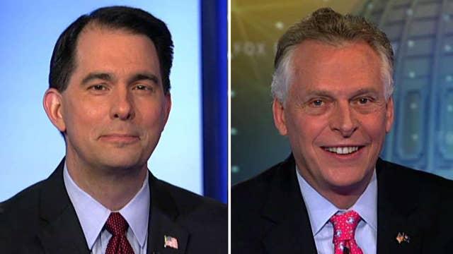 Govs. McAuliffe and Walker on local impact of Trump's agenda