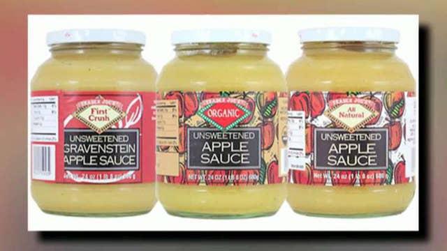Trader Joe's apple sauce recalled due to glass found