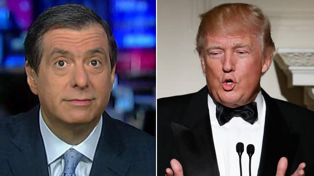 Kurtz: Trump skipping correspondents' dinner is no surprise