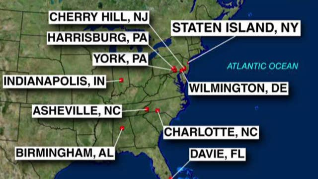 Jewish centers across several states evacuated