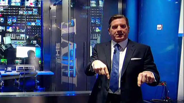 Eric Bolling takes fans on tour of new studio